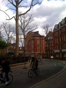 Arnold Circus, Boundary Estate, London's first council-housing project, build in 1900 to replace a Slum