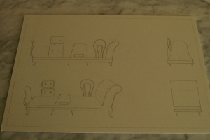 GA drawing 1 - chaise longue and then some