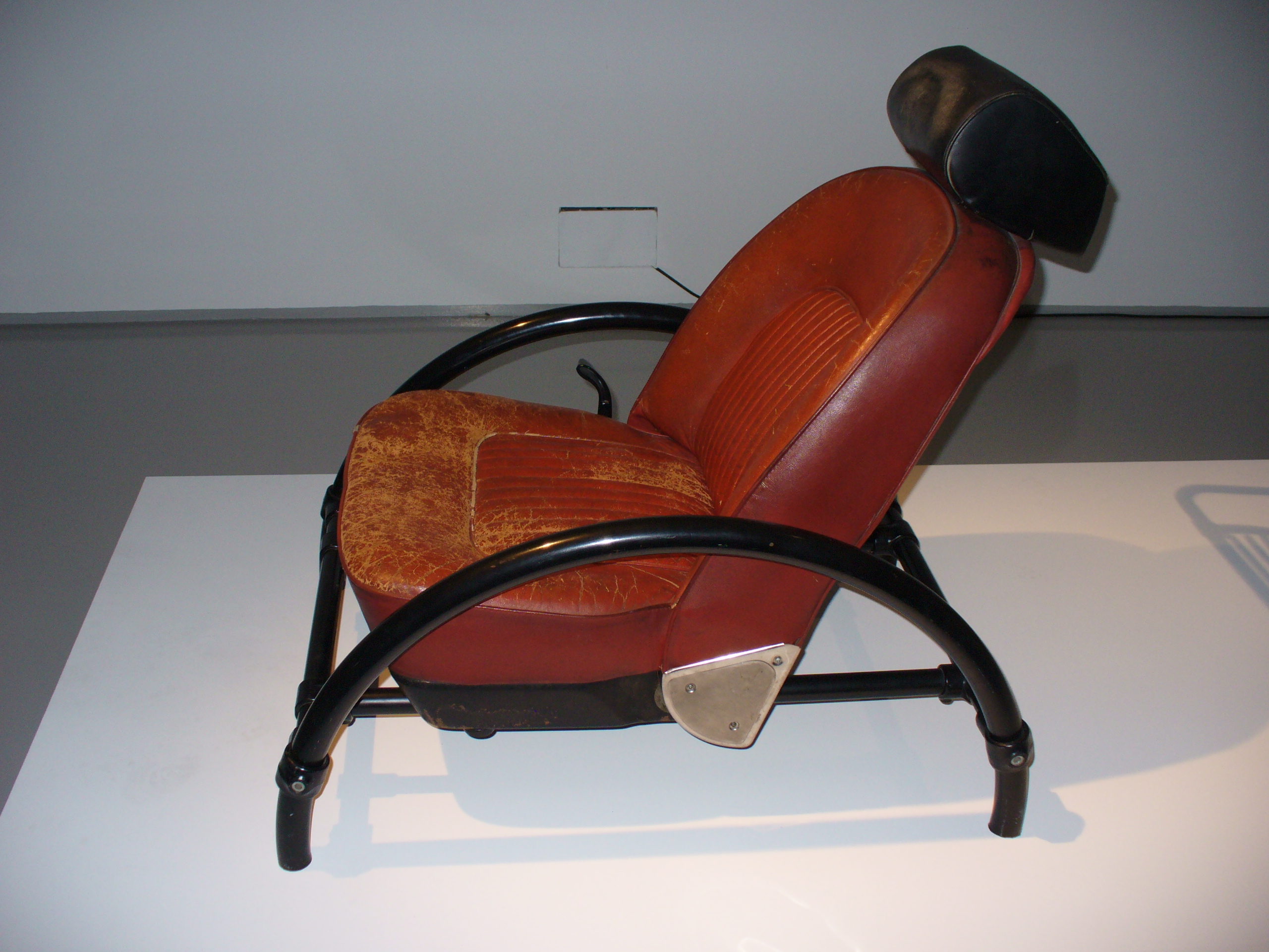 Ron Arad Rover Chair & out and about :: ron arad: restless at the barbican | confessions of ...