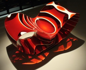 One of Ron Arad's Voids