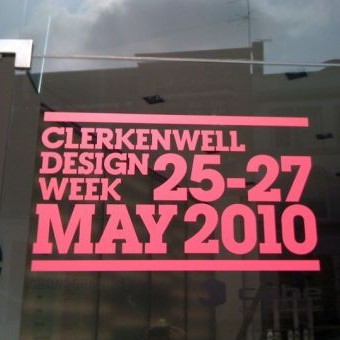 my deco's clerkenwell design week