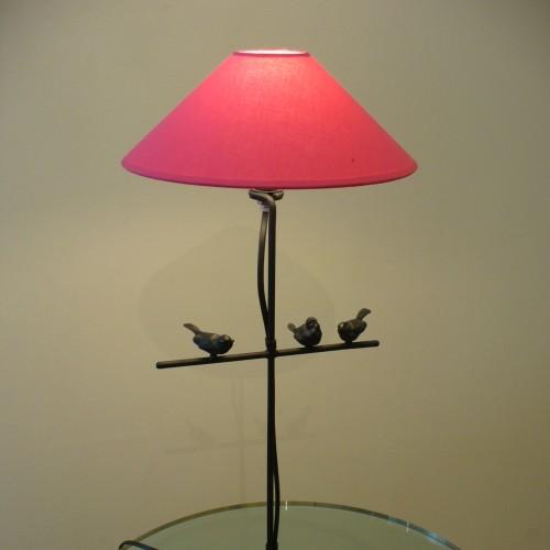 Bird table lamp