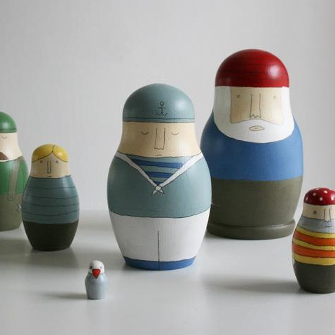 Russian dolls by Papa Stour