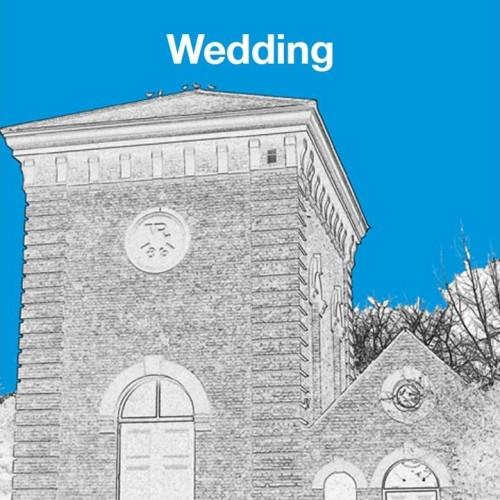 PWANP-style wedding invitation