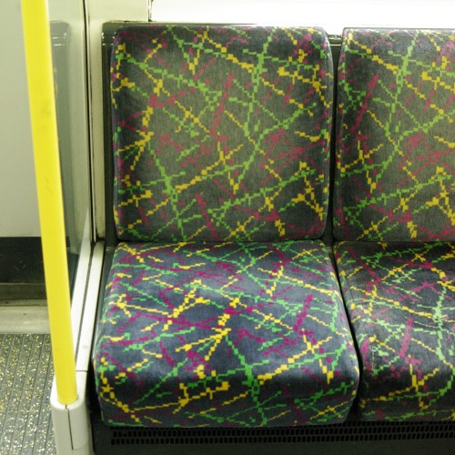 District Line tube chair