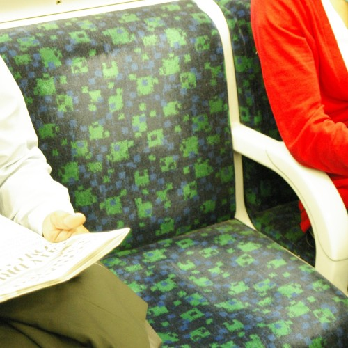 Another District Line tube chair