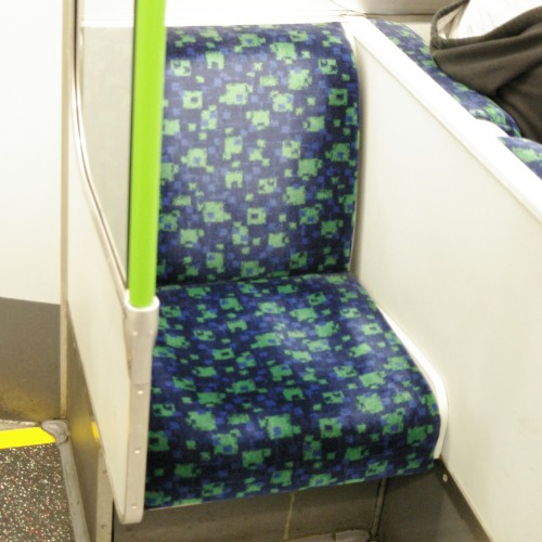 And another District Line tube chair