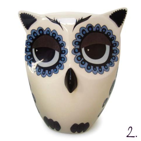 Hannah Turner's owl courtesy of Dear Designers
