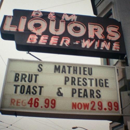 D&M Liquors, SF, Mini Diana