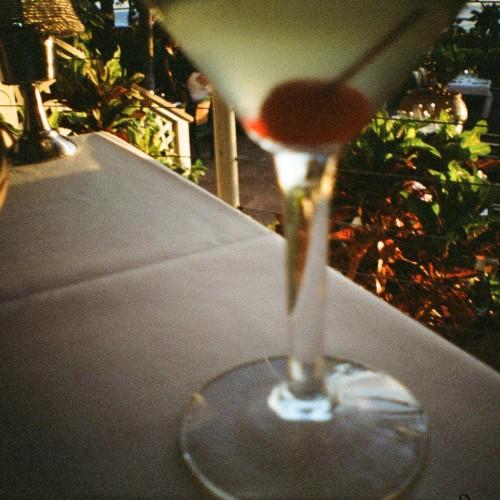 Apple martini at i'o, Maui, Hawaii, Diana Mini