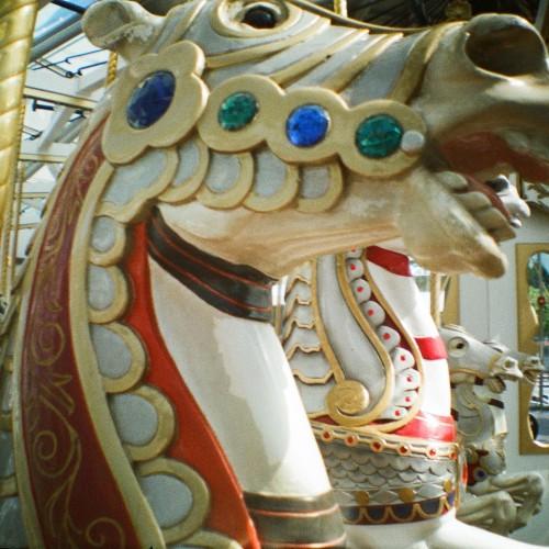 Carousel horse in SF, Diana Mini