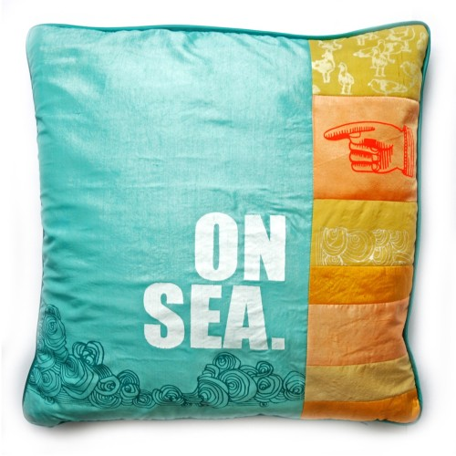 Zoe Murphy Margate Recycled Silk Cushion