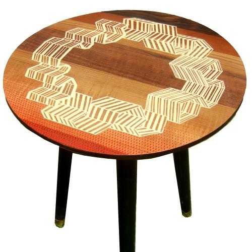 Zoe Murphy Windbreaker side table