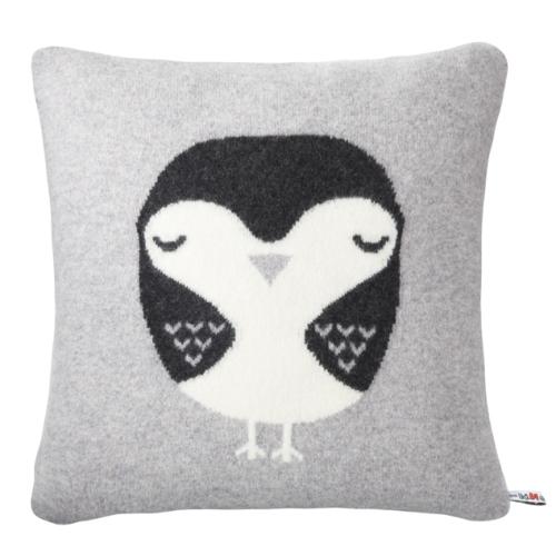 Donna Wilson Robin Cushion Grey, Design Museum Shop, £65