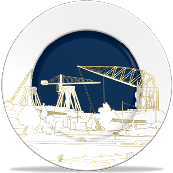 People Will Always Need Plates Shipyard Platter