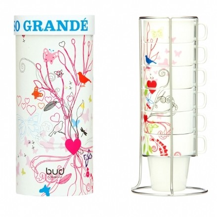 Bird print grand espresso set, Dutch by Design, £15