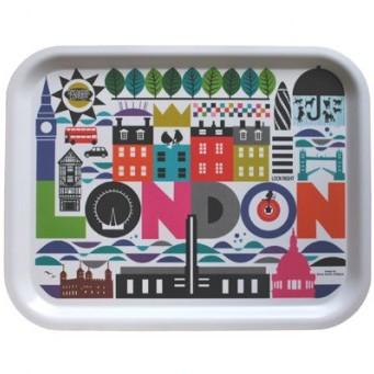 London Tray Colourful, Maria Holmer Dahlgren, Aria, £26.50