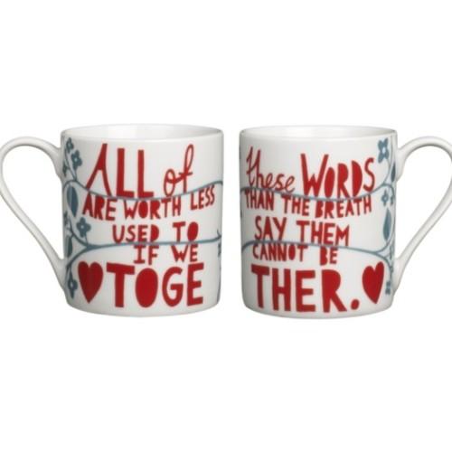 Rob Ryan mug set, John Lewis, £17