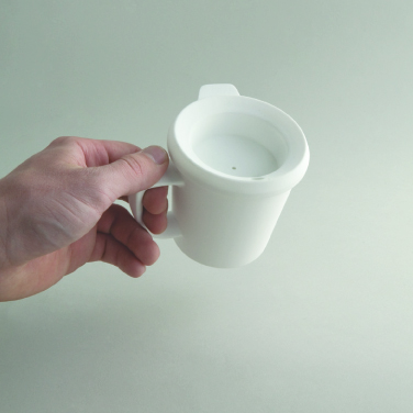 Cup with lid to avoid spillage