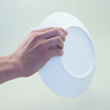Easy grip on underside of assistive plate