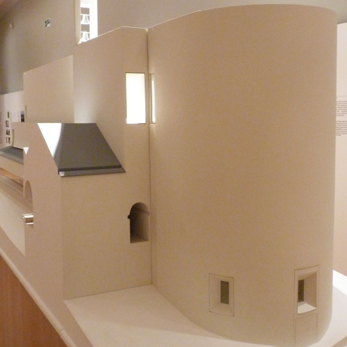 Model of Cistercian Monastery of Our Lady of Nový Dvůr