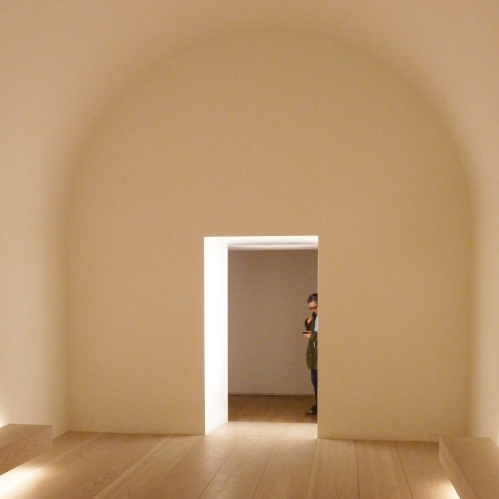 Site specific 1:1 installation, John Pawson for the Design Museum