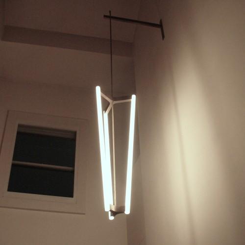 Tube Chandelier, 2002
