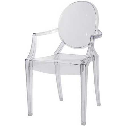 Louis XVI Ghost Chair by Philippe Starke for Kartell