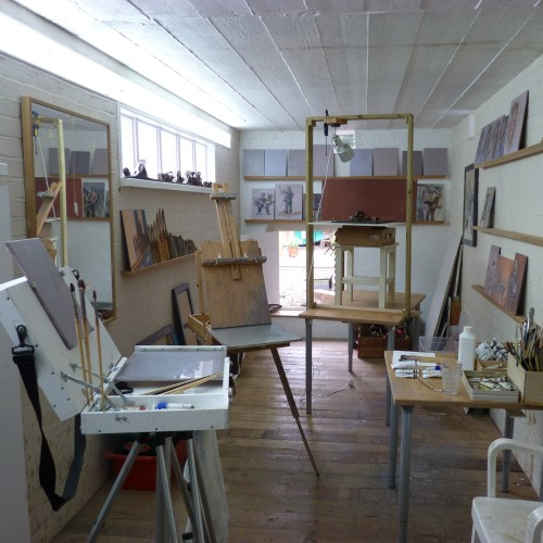 Ian Lettice's studio
