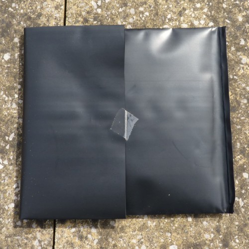 Sunography fabric in light-proof bag