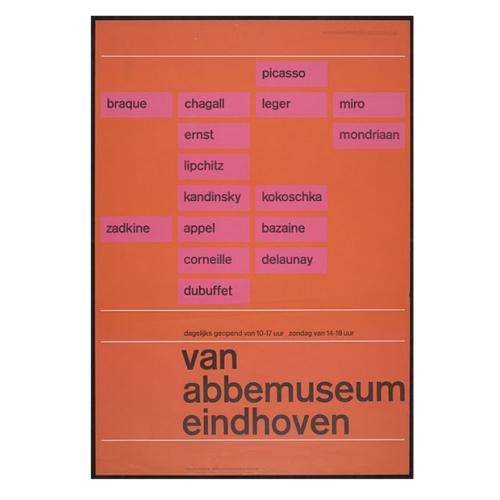 Van Abbamuseum poster