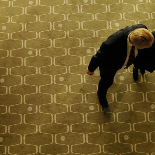 Net and Ball carpet, 2008