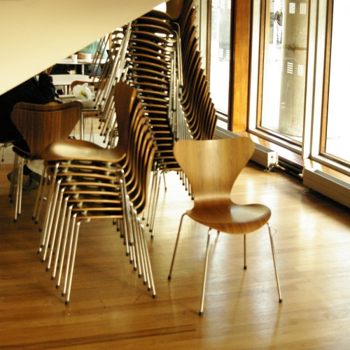 Robin Day chairs at Royal Festival Hall, 2008