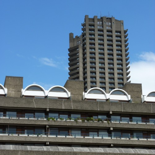 Different flats at the Barbican