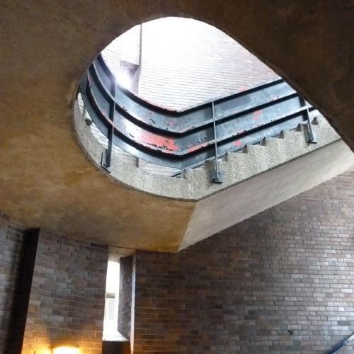 Staircase entrance to Barbican Estate