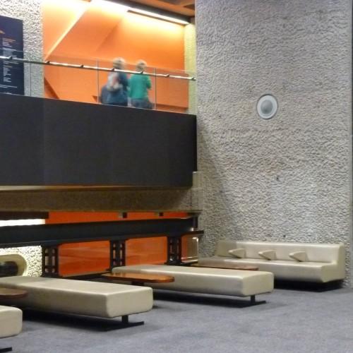 Interior of Barbican Arts Centre