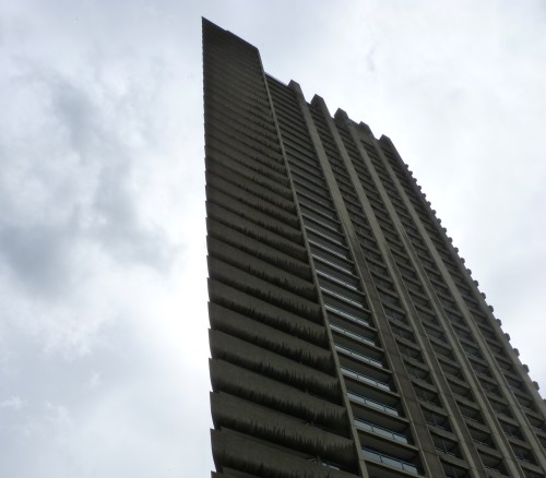 One of the Barbican's three towers