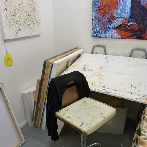 Fiona Brown's studio