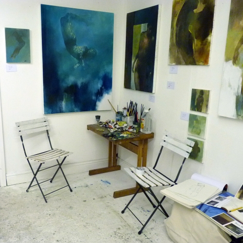 Bill Bate's studio