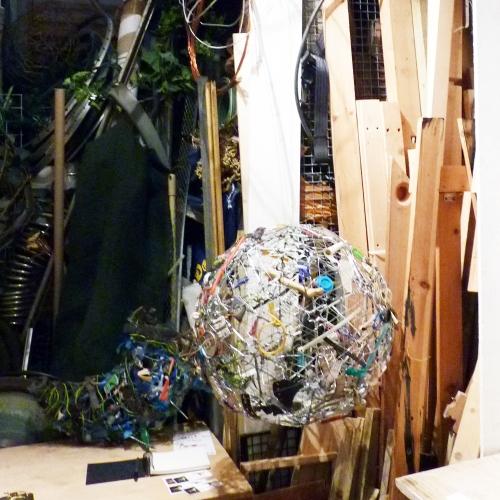 Kevin Herlihy's studio