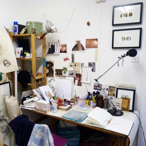 Gemma Fripp's desk