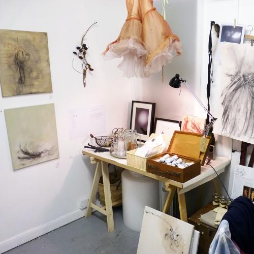 Gemma Fripp's studio