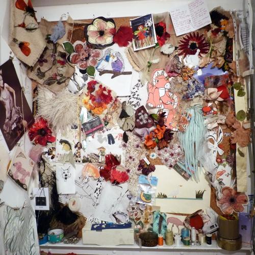 Danielle Wood's desk space
