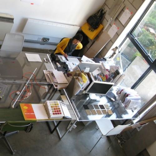 Perspex desks