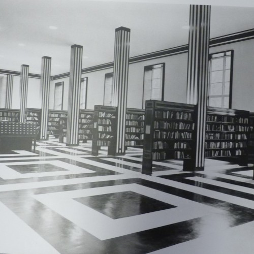 Photograph of the original interior