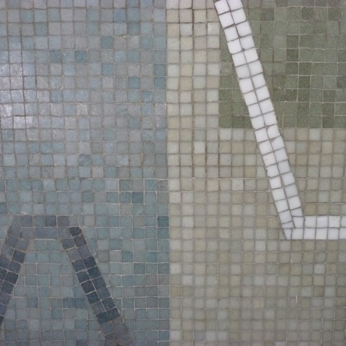 Interior mosaic at Holborn library