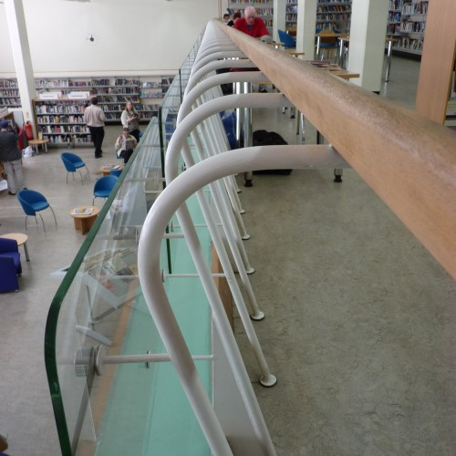 Handrail in Holborn library