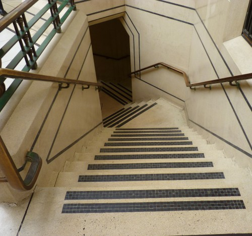 Stairwell in Leytonstone Library