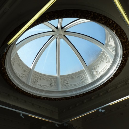 Domed roof window at University of East London, Stratford Campus, Library