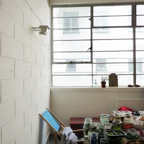 Alexandra's studio